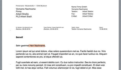 Musterbrief Nach Din Vorlage Pages Briefvorlage Norm Din 5008 Mit Bezugszeichenzeile Numbersvorlagen De