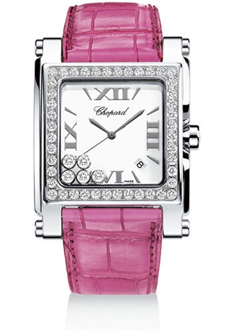 Chopard Chess Style Square For chopard happy sport square large watches from swissluxury