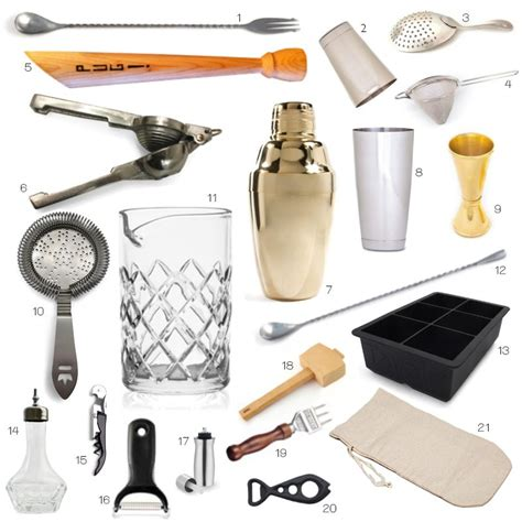 barware accessories tools of the trade honestlyyum