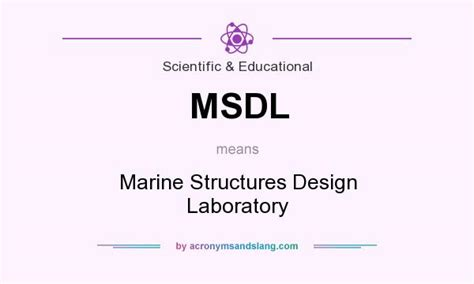 design criteria of marine structure msdl marine structures design laboratory in scientific