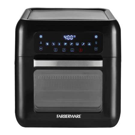 farberware  quart digital xl air fryer oven black