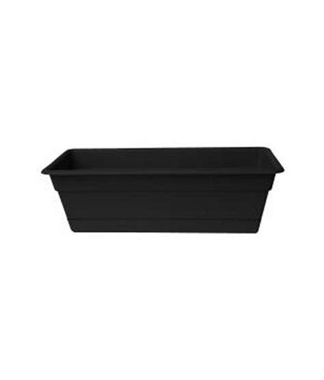 e plant black plastic rectangle window planter buy e
