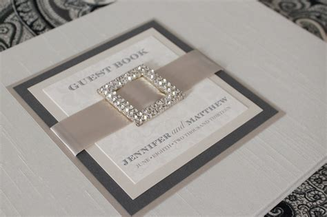 Handmade Guest Books - custom guest books handmade invitations