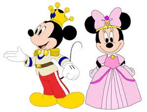 coloriage prince mickey princesse minnie 224 imprimer