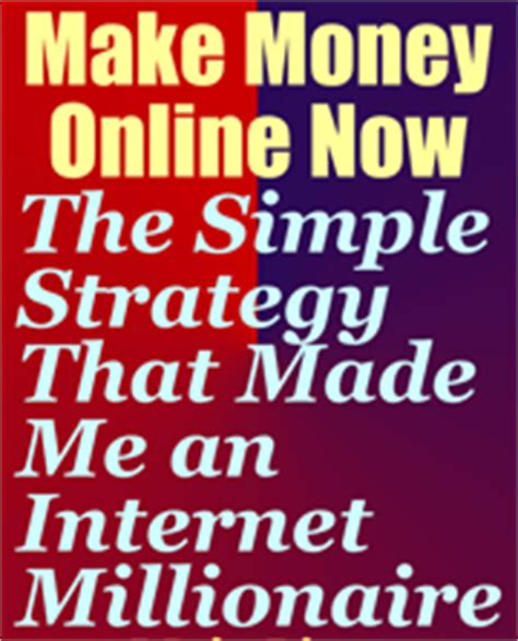 How To Make Money Online Book Pdf - make money online now free money making bbook pdf download money making books