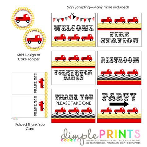 free online invitation template free printable fire truck birthday invitations