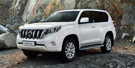 land cruiser prado car 2014 toyota prado facelifted suv here in october three