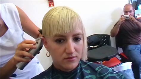 return of the bowl haircut daily makeover assymetric bowl haircut in an extreme hair change made in