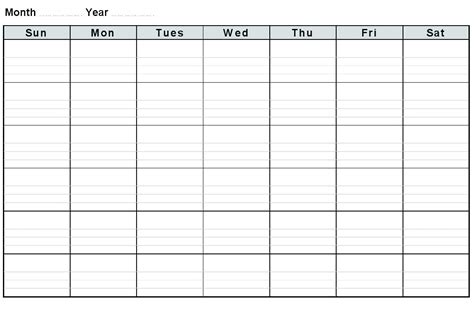gallery free blank schedule template weekly templates for word 18