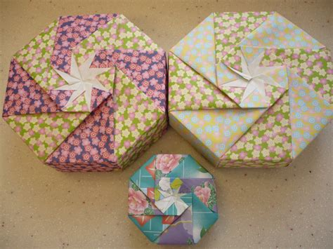 Make Origami Shaped Box - octagon shaped boxes useful origami useful origami