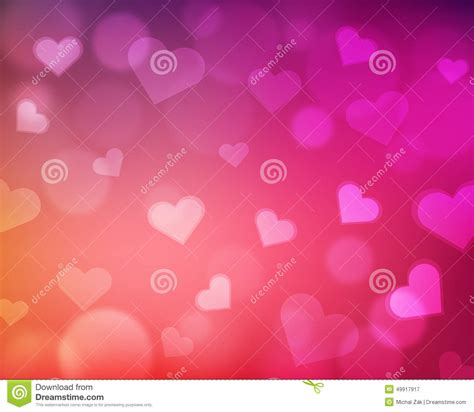 background themes love blur background with love theme hearts and light orbs