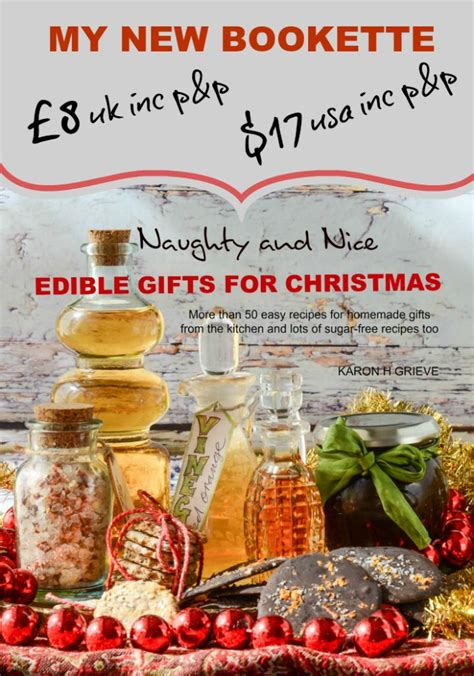 my new bookette naughty and nice edible gifts for
