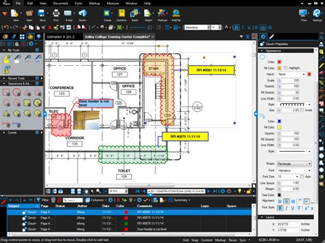 Home Design Cad Software Reviews by Edit Markup Amp Collaborate On Pdfs On Bluebeam Revu