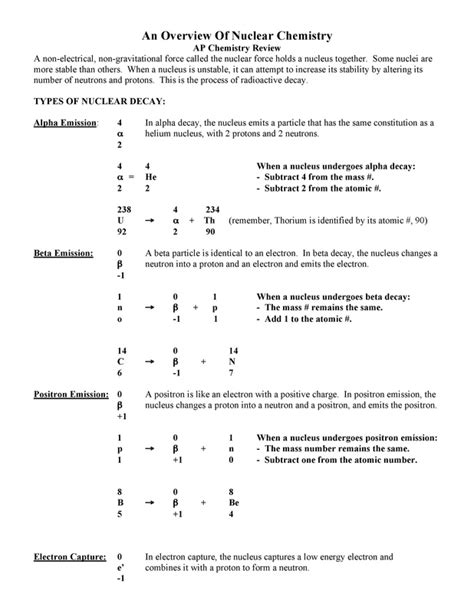 modern chemistry chapter 2 section 2 review answers nuclear chemistry review worksheet answers