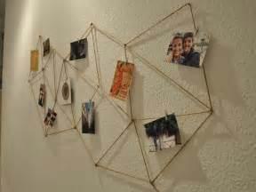 le mit foto geometrische fotowand aus kordel gestalten