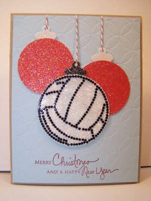 merry christmas happy  year christmas card images volleyball christmas volleyball ornaments