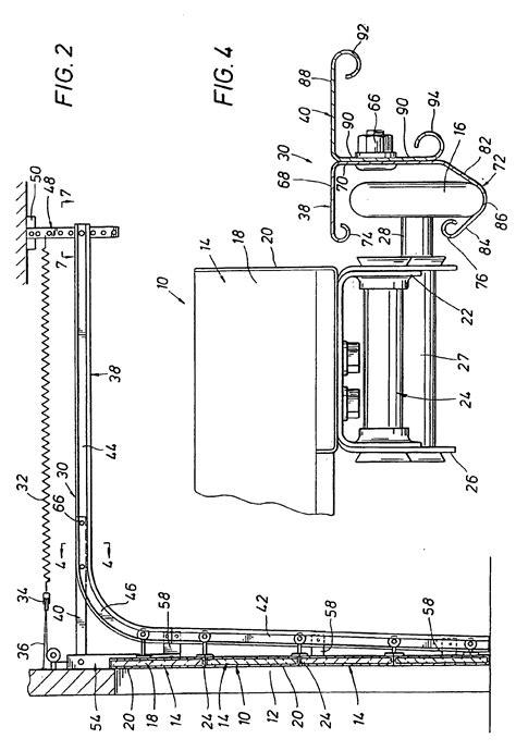 Overhead Door Details Patent Ep1097285b1 Overhead Door Track Structure Patents