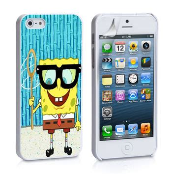 spongebob themes for iphone 4s spongebob fishing iphone 4s iphone 5 from icasesstore com