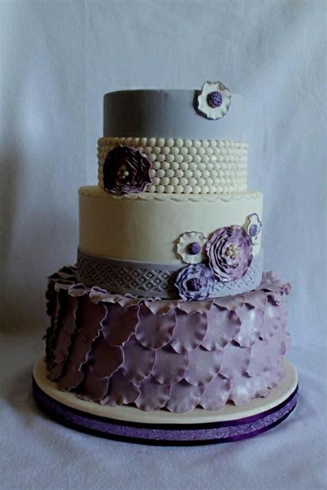 Hochzeitstorte Violett by 35 Beispiele F 252 R Hochzeitstorte In Lila Archzine Net