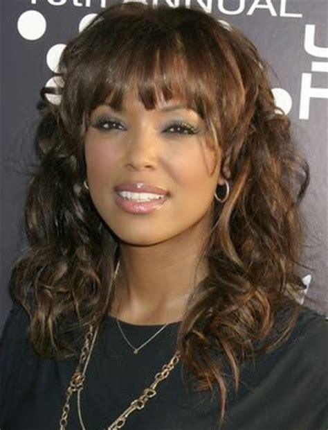 hairstyles with bangs black hair popular black girl hairstyles with bangs 2014 hairstyle