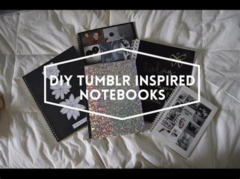tumblr rooms diy book covers diy notebook decor x tumblr inspired x back to school