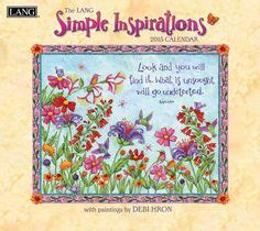 sarah j home decor simple inspirations debi hron 2015 lang calendar from
