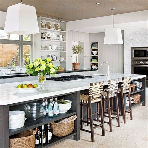 extra long kitchen island bhg style spotters