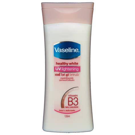 Lotion White vaseline healthy white uv lightening lotion 120ml