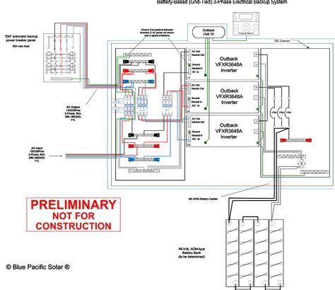 outback inverter wiring diagram inverter free printable