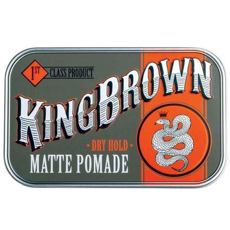 King Brown Pomade 2 5oz 70 G king brown matte pomade 70g beard blade