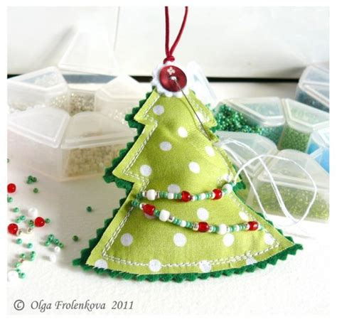 Handmade Tree Decorations Ideas - how to make decorations photograph home