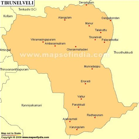 tsmil mp tirunelveli parliamentary constituency map election