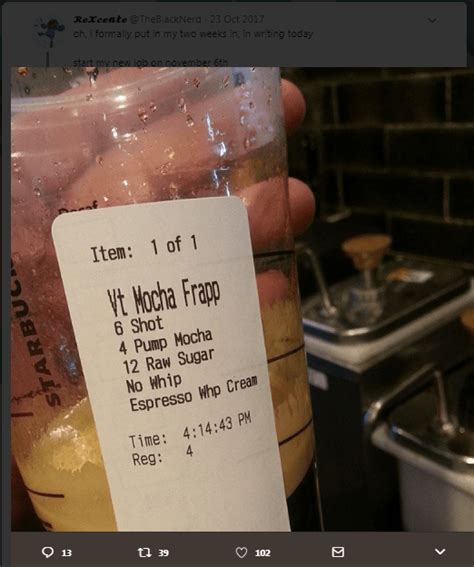 most ridiculous starbucks order starbucks horror drinks baristas share ridiculous drink