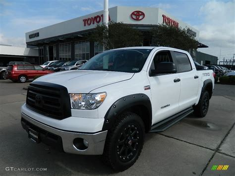 Toyota Tundra T 2012 White Toyota Tundra T 2 0 Limited Edition