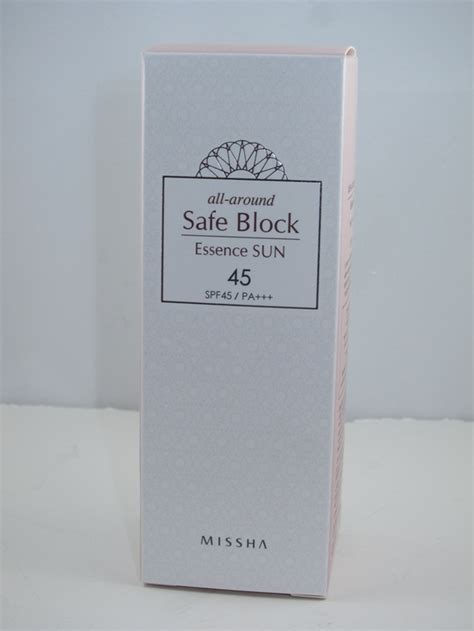 Missha All Around Safe Block Line Edition missha all around safe block essence sun spf 45 review musings of a muse