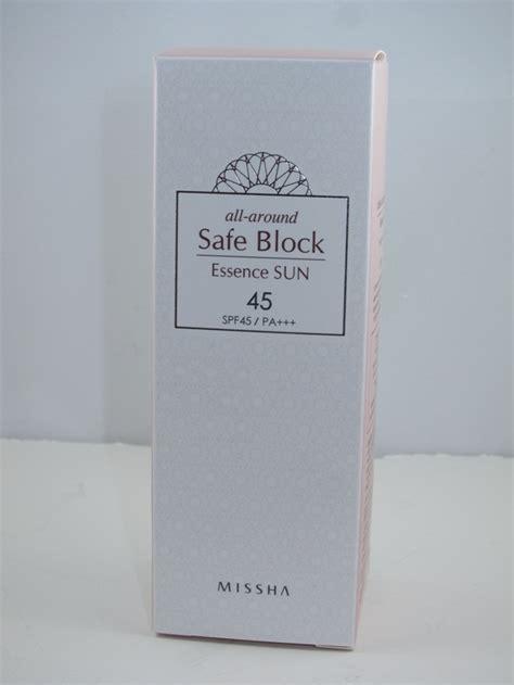 Jual Missha All Around Safe Block missha all around safe block essence sun spf 45 review