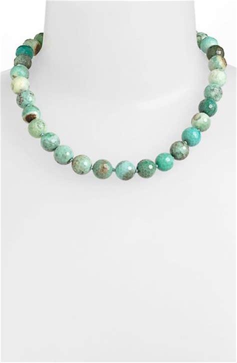 simon sebbag beaded necklace in silver silver