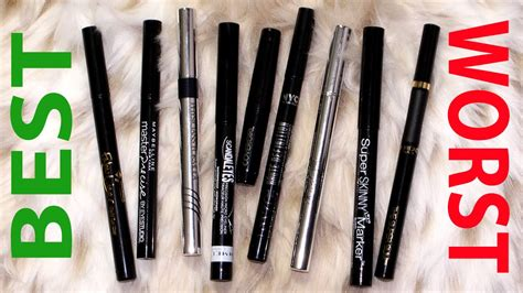 frugal fridayz battle of the drugstore liquid eyeliners