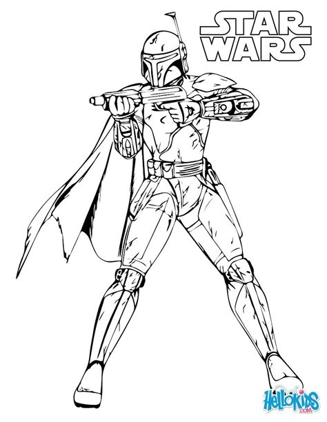 boba fett coloring free coloring pages art coloring pages