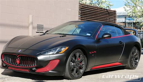 maserati wrapped maserati car wrap carwraps com