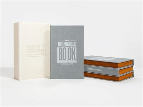 drink this water books the drinkable book provides safe water cnet