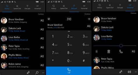 calling on mobile phone with skype more with windows 10 phone app