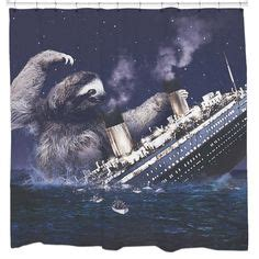 stripper sloth shower curtain stripper sloth shower curtain don t worry my life and jokes