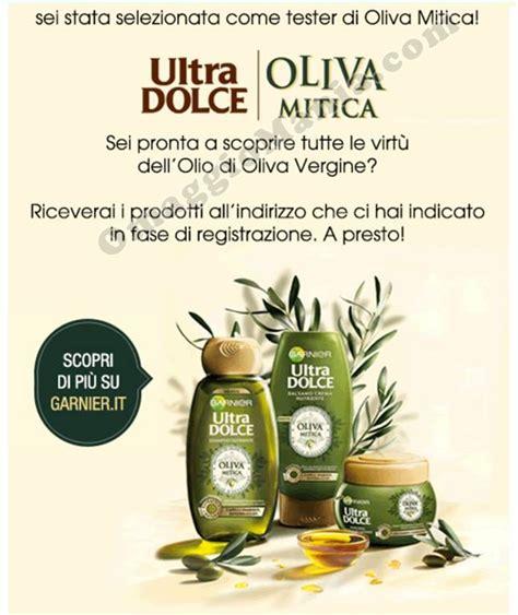 testare prodotti gratis a casa garnier oliva mitica sei tra i tester omaggiomania