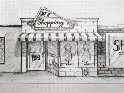sketchbook shop shopping sketch by l2d dribbble