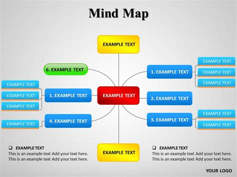 Diagrams Powerpoint Templates Diagrams Ppt Templates Slide World Mind Map Powerpoint Template