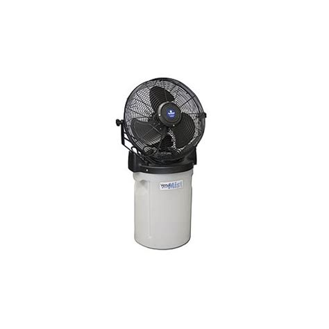 portable misting fans with tank schaefer pvm18c b portable misting fan with tank and black