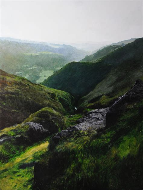 Landscape Artists Wales Landscape With Aspect Towards The Wales Coast By