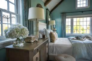 hgtv bedrooms blue master bedroom with large nightstands hgtv