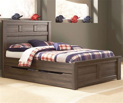 boys trundle bed juararo full size panel bed with trundle modern look
